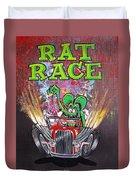 Rat Race Duvet Cover