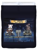 Rat Race Duvet Cover