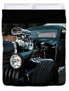 Rat Rod Coupe Duvet Cover