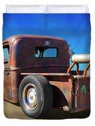 Rat Truck On Beach 2 Duvet Cover