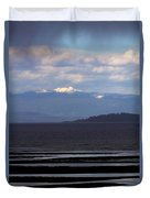 Rathtrevor Beach On Vancouver Island In British Columbia Duvet Cover