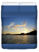 Raumanmeri Sunset Duvet Cover