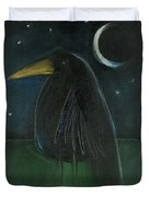Raven By Moonlight No. 2 Duvet Cover