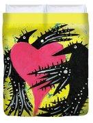 Raven Love Duvet Cover