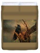 Raven Lover Duvet Cover