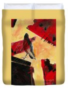 Raven Morgan 007 Duvet Cover