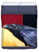Raven Of The Tomorrow Wings Duvet Cover