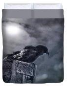 Raven Twilight Duvet Cover