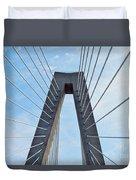 Ravenel Bridge Charleston Duvet Cover