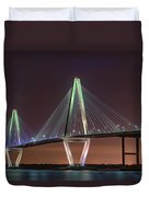 Ravenel Bridge Twilight Duvet Cover