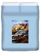 Raw North Duvet Cover