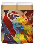Raw Paint - 281 Duvet Cover