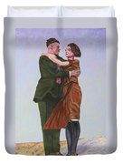 Ray And Isabel Duvet Cover