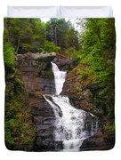 Raymondskill Falls Duvet Cover