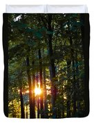 Rays Of Dawn Duvet Cover