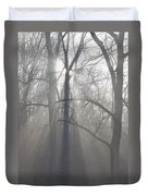 Rays Of Hope Duvet Cover by Bill Cannon