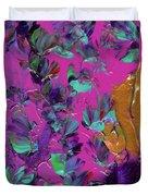 Razberry Ocean Of Butterflies Duvet Cover