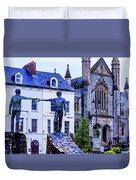 Reach Out - Belfast Ireland Duvet Cover