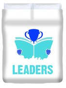 Readers Are Leaders Duvet Cover