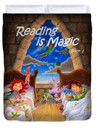Reading Is Magic Duvet Cover