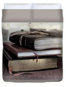 Reading Material Duvet Cover