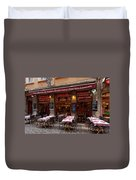 Ready For Diners Duvet Cover