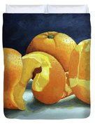 Ready For Oranges Duvet Cover