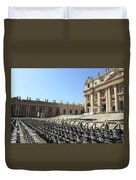 Ready For Pope's Appearance Duvet Cover