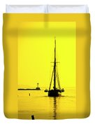Ready For Sails  Duvet Cover