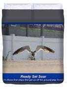 Ready Set Soar Duvet Cover