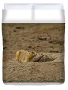 Ready To Dive Duvet Cover
