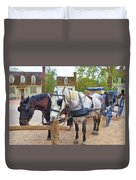 Ready To Work Duvet Cover