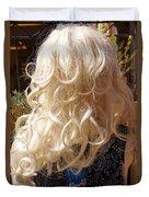 Real Blond Duvet Cover