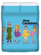 Real Candidates Of The Gop -clear Background Version 2 Duvet Cover
