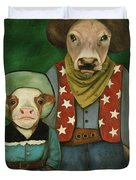 Real Cowboys 3 Duvet Cover
