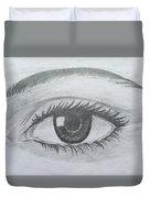 Realistic Eye Duvet Cover