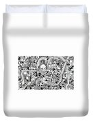 Reality Duvet Cover by Chelsea Geldean