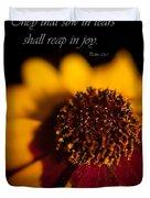 Reap In Joy Duvet Cover