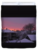 Rear Window To Surreal Duvet Cover