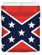 Rebel Flag Duvet Cover