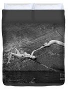 Reclining Nudes Duvet Cover