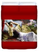 Reclining Odalisque Duvet Cover
