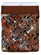 Recurring Pattern Abstract Duvet Cover