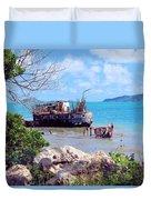 Recycled In Grenada Duvet Cover