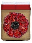 Recycled Poppy Duvet Cover