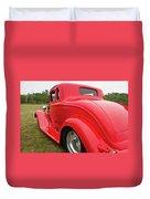 Red 1994 Duvet Cover