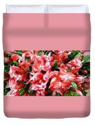 Red Abundance Duvet Cover