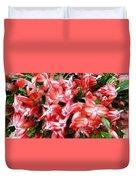 Red Abundance Duvet Cover