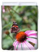 Red Admiral 1543 Duvet Cover