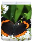 Red Admiral - Topwings Duvet Cover